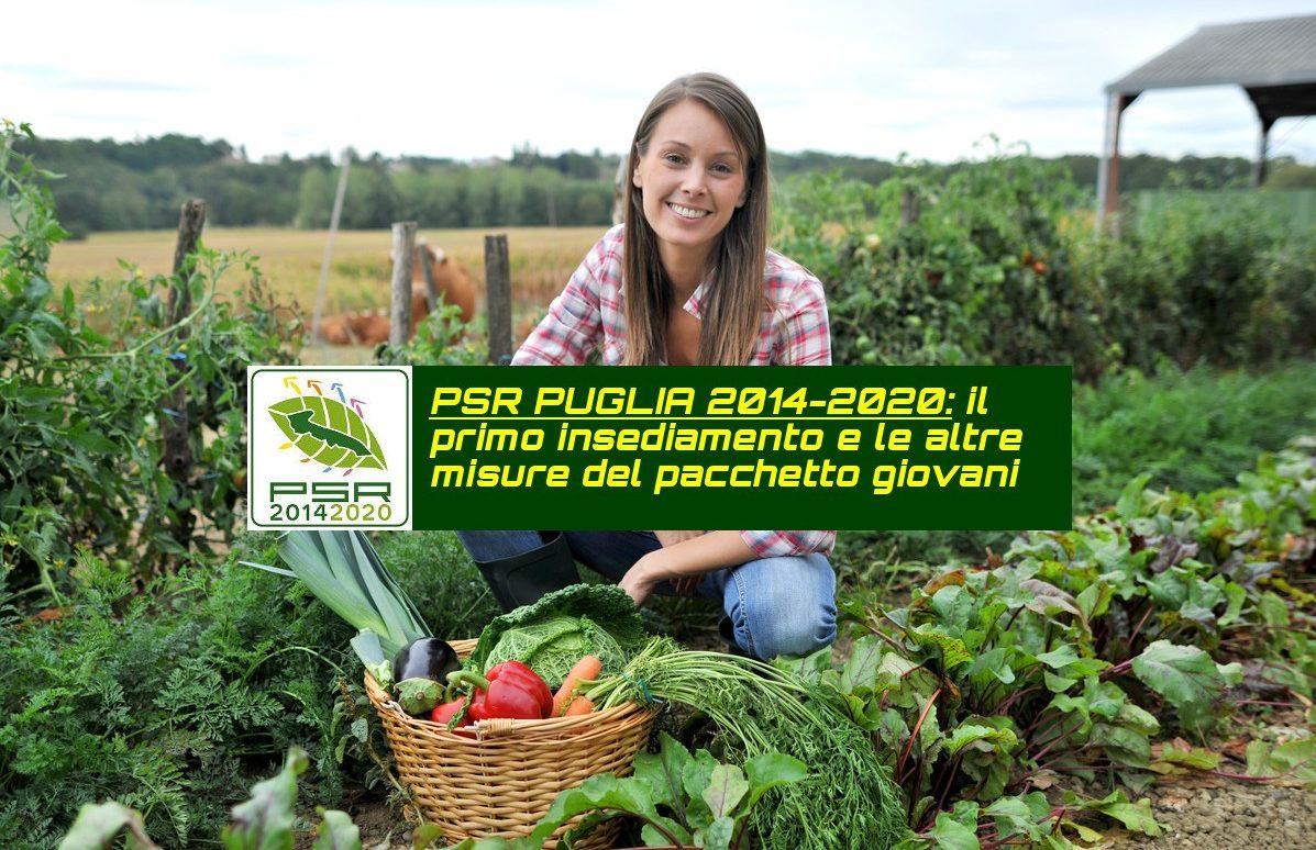 Bando 6.1 Regione Puglia – Primo insediamento per i giovani agricoltori – Bando Operativo